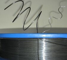 """1.0 mm (18 awg, 0.04"""") Nitinol shape memory alloy 40 C (104 F) wire, by the foot"""
