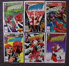 NETFLIX.  DAREDEVIL FRANK MILLER  LOT OF 6 # 174 175 176, 179, 180, 182 ELEKRA