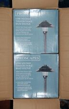 Wholesale Case of 2 Malibu / Proscapes 8608-0101-01 2-Tier Down Lights NEW!