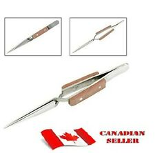 FIBER GRIP CROSS LOCKING TWEEZER FOR JEWELRY & SOLDERING SELF CLOSING ST70 STR