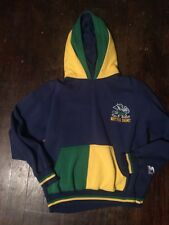 Vtg Notre Dame Fighting Irish Starter Mens Dual Hoodie L Large NCAA Sweatshirt