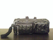 DIOR HOMME Quilted Lambskin Leather Rock Plated Metal Hedi Slimane Duffle Bag