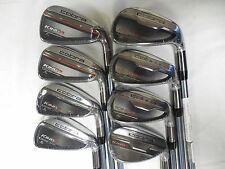 New 2016 Cobra King F6 4-SW Iron Set Stiff flex Matrix Ozik Graphite Irons
