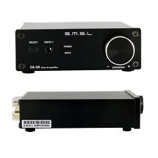 New Black SMSL SA-60 Class D Big Power HIFI Digital Amplifier Power Supply