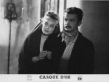 Photo originale Simone Signoret Serge Reggiani Casque d'or Jacques Becker