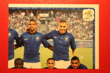 Panini EURO 2012 N. 458 FRANCE TEAM  NEW With BLACK BACK TOPMINT!!