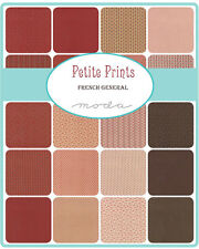 """Petite Prints French General Moda  Quilt Fabric Charm Pack 42   5"""""""
