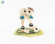 Dental Figurine Decoration Tooth Molar Soccer Hand-painted Resin Collection