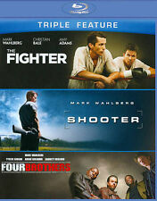 The Fighter/Shooter/Four Brothers (Blu-ray Disc, 2013, 3-Disc Set)