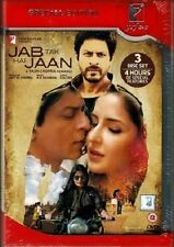 JAB TAK HAI JAAN - OFFICIAL UK BOLLYWOOD 3 DISC DVD - FREE POST [SHAH RUKH KHAN]