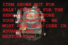 CARTER WDO 2 BARREL CARBURETOR RESTORATION ANY MODEL