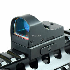 Micro Reflex 3 MOA Red Dot Sight Rifle Scope w/Weaver/Picatinny Rail 20mm H08