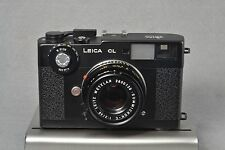 Leica CL with Leitz Summicron-C 40mm f/2 M