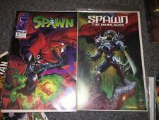 IMAGE TODD MCFARLANE SPAWN COMIC BOOK LOT #1's Dark Ages
