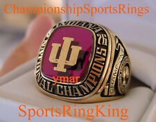 1976 INDIANA NCAA NATIONAL CHAMPIONSHIP PLAYER 10K RING
