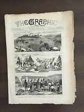 """""""THE GRAPHIC"""" (A Beautifully Illustrated British Weekly Newspaper)-Apr. 23, 1881"""