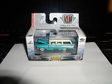 m2 machines 1957 CHEVY 210 BEAUVILLE STATION WAGON r35 auto-thentics 1:64  NEW