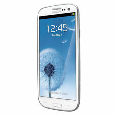 NEW SAMSUNG GALAXY S III WHITE S3 LTE SMARTPHONE SCH-I535 STRAIGHT TALK-VERIZON