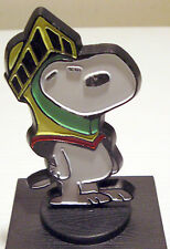 Vintage Peanuts Snoopy Paperweight Trophy Rare Item & Baby Spoon & Fork