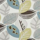 Clarke and Clarke Malena Wasabi Leaf Design Curtain Upholstery Craft Fabric