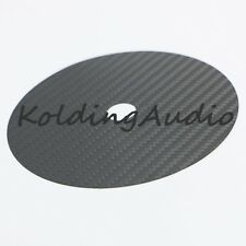 1 CD Tuning Mat Stabilizer Carbon Fiber Up Grade HIFI clamp Top Tray Player Bk