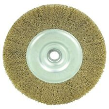 "5"" Coarse Brass Wire Wheel Brush by Tuff Stuff #13436"
