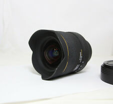 SIGMA EX DG 12-24MM F4.5-5.6 D HSM ULTRA WIDE ZOOM NIKON boxed