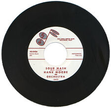 """HANK MOORE AND ORCHESTRA  """"SOUR MASH""""   STORMING CLUB CLASSIC  LISTEN!"""