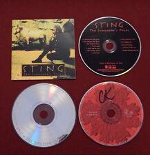 3 CD Lot : Secret World Live Peter Gabriel disc 2, Paul Simon, Sting - CDs Only.
