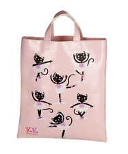Girls Pink PVC Ballet Dance Shoe Shopping Bag By Katz Dancewear Gifts KB10