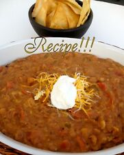 """☆Super Bowl: Beer, Bacon and Bean Dip """"Recipe""""☆Gameday Goodies!☆"""