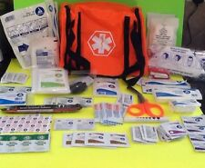 Dixie First Aid Kit EMT Medical Bag Prepper Emergency Medic Fully Stocked