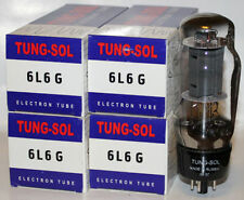 Matched Quad Tung Sol 6L6G 6L6 Big Bulb Tubes, Brand NEW