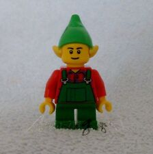 *! Genuine New Lego Elf With Green Dungarees Split From Set 10245 !!