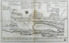 c1750 Kroatien Adria Cres Vrana Kupferstich-Plan