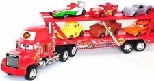 Cars 2 Autos Mack Manny Truck Uncle Spielzeug + 6 Autos 50cm x 15cm x 8cm HOT