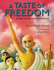 A Taste of Freedom: Gandhi and the Great Salt March-ExLibrary