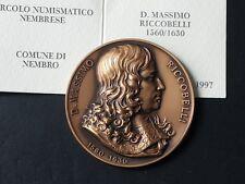 BELLA MEDAGLIA  MASSIMO RICCOBELLI 1560-1630