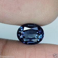 1.80 cts : Oval Cut : Srilanka : Ash Blue Hue : Natural : Spinel : BC1887