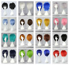15 Colors New Fashion Short Straight Man Wig Cosplay Party Wigs Free Shipping/##