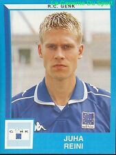 132 JUHA REINI FINLAND RC.GENK STICKER FOOTBALL 2000 PANINI