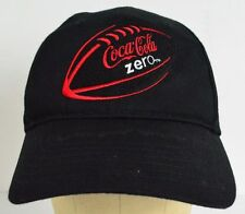 Coca Cola Buffalo Wild Wings NFL Football Black Embroidered Baseball Hat Cap