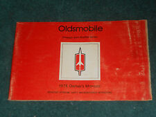 1978 OLDSMOBILE STARFIRE & OMEGA OWNER'S MANUAL / ORIGINAL GUIDE BOOK