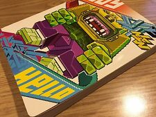 HELLO EBOY PIXEL GRAPHIC ART BOOK SOFT COVER RARE DESIGN WORK
