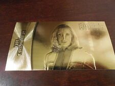 Star Trek Insurrection - Dr. Beverly Crusher Gold Foil Card G-5  #'d 28/400