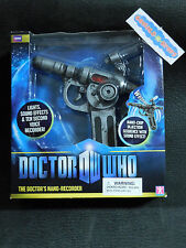 Doctor Who DW The Doctor's Nano-Recorder w/ Light Sound & Voice Recording BBC