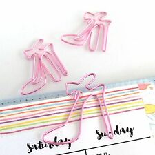 Paper Clips Pink Shoes Planner Accessories Paperclip