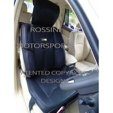 i - TO FIT A DAEWOO LEGANZA CAR, SEAT COVERS, YMDX BLACK, RECARO BUCKET SEATS