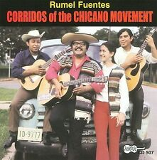 Rumel Fuentes - Corridos Of The Chicano Movement Brand New CD Sealed