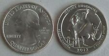 USA Quarter America the Beautiful - Mount Rushmore D 2013 unz.